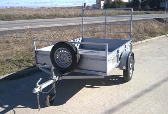 Remolques de transporte de vehículos